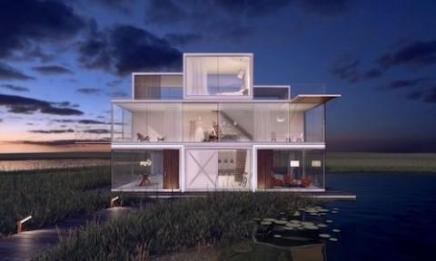 Dự án nhà ở mô-đun nhằm tối đa hóa không gian