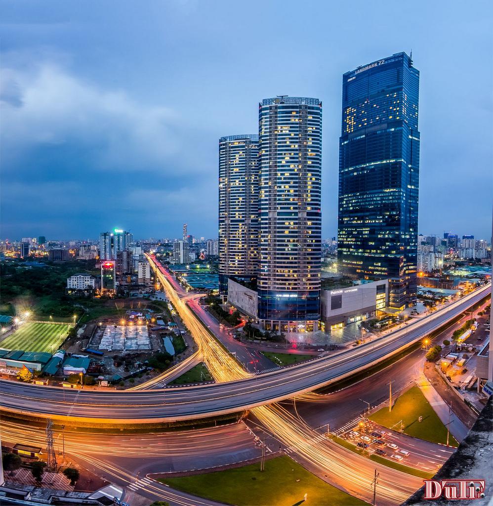 Hạ tầng giao thông mới xây dựng khu vực phía Tây, Tp. Hà Nội