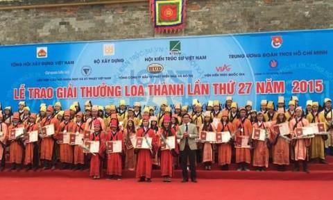 Lễ trao giải giải thưởng Loa Thành năm 2015