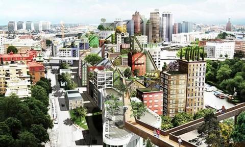 Ý tưởng thiết kế đô thị mới cho Stockholm