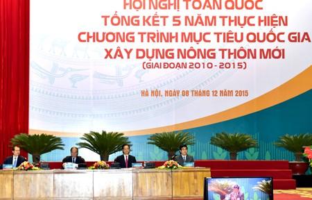 Hội nghị tổng kết 5 năm xây dựng nông thôn mới