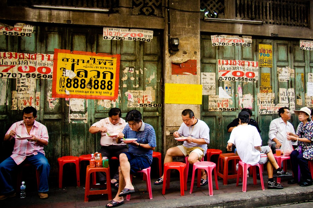Cuộc sống thường nhật tại ChinaTown, Thailand
