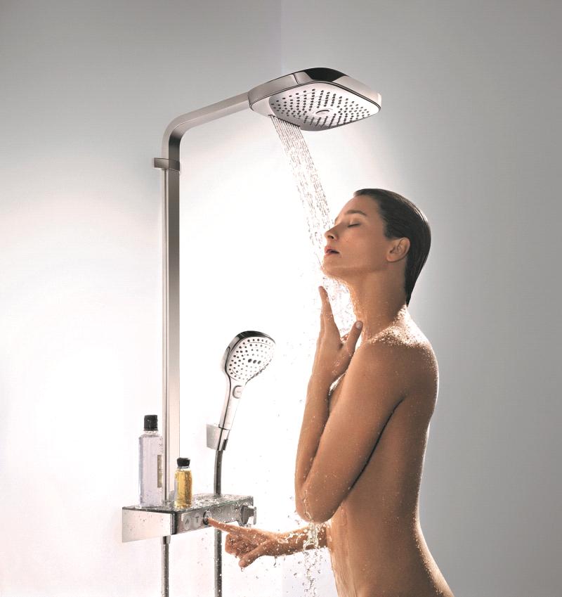 Với thiết kế sang trọng, hiện đại và đa dạng, các dòng sản phẩm của Hansgrohe thích hợp với nhiều không gian phòng tắm khác nhau, kể cả những phòng tắm có kích thước nhỏ.