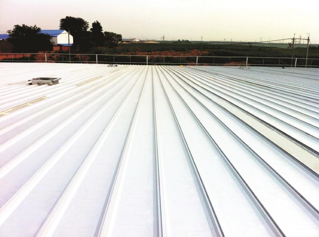 Hệ mái lợp LYSAGHT®SMARTSEAM™ được lắp đặt tại nhà máy ShenYang, KCN Supor, Trung Quốc.