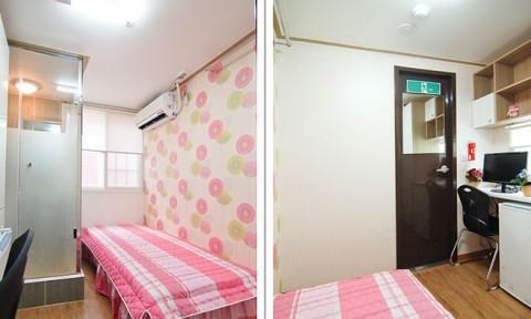 Chung cư 6 m2 ở Hàn Quốc
