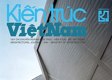 Tạp chí Kiến trúc Việt Nam số 11/2015