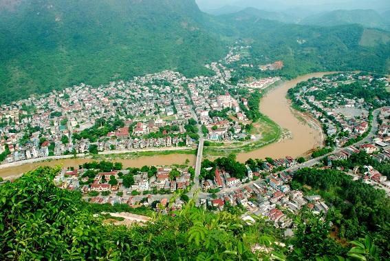 Không gian đô thị trung tâm tỉnh Hà Giang