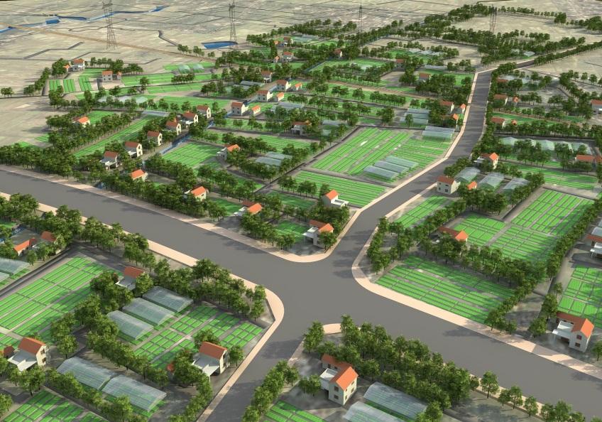 Quy hoạch mẫu nông thôn mới xã Long Phước, H. Long Thành, Đồng Nai