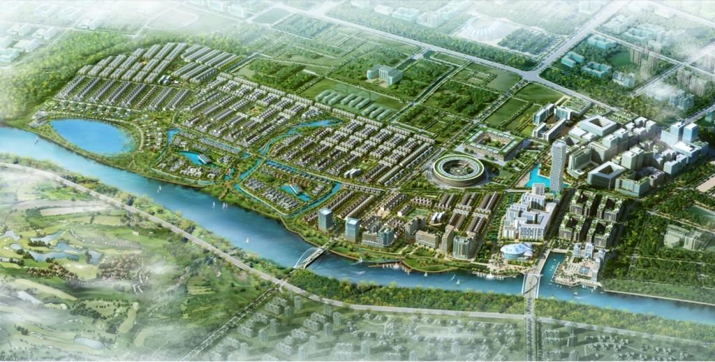 Phối cảnh tổng thể dự án Khu đô thị FPT City Đà Nẵng