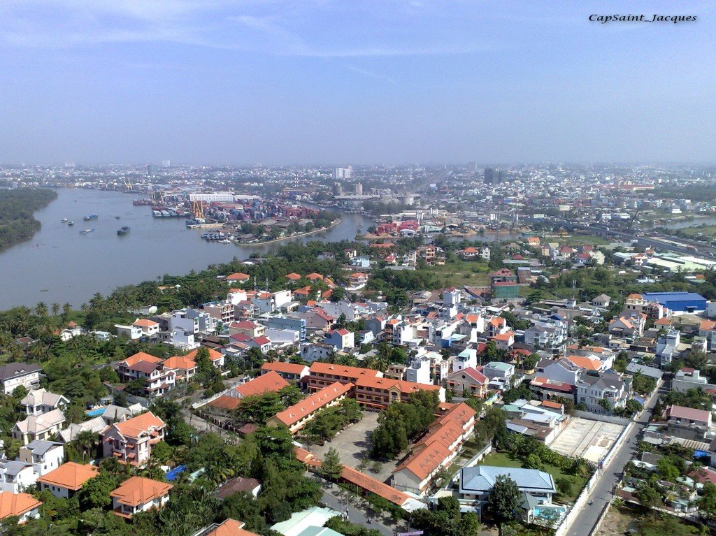 Không gian đô thị TP.HCM ven sông Sài Gòn