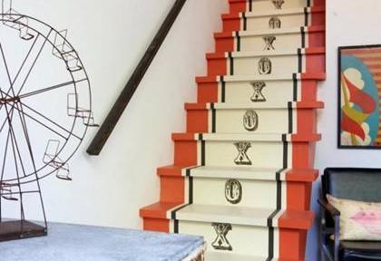 Trang trí cầu thang bằng những ý tưởng độc đáo