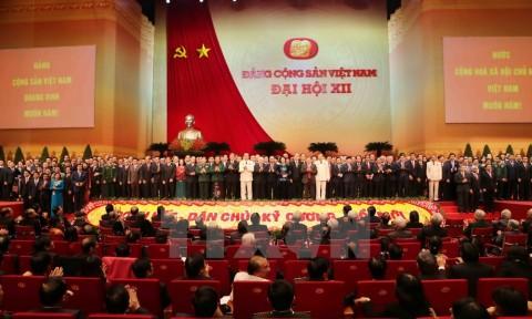 Phiên bế mạc Đại hội đại biểu toàn quốc lần thứ XII của Đảng