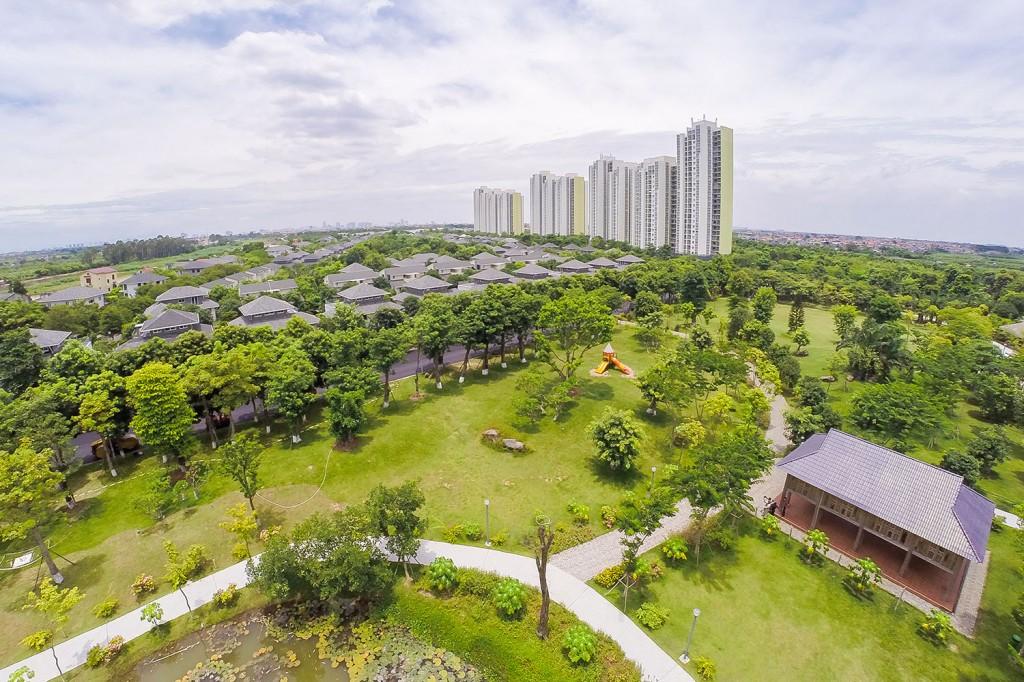 Cảnh quan KĐTM Eco Park, Văn Giang, Hưng Yên
