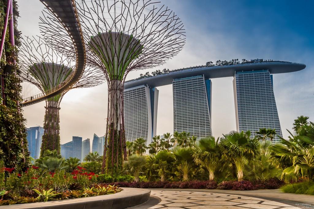 Thiết kế đô thị khu công viên Marina Bay Sands, Singapore