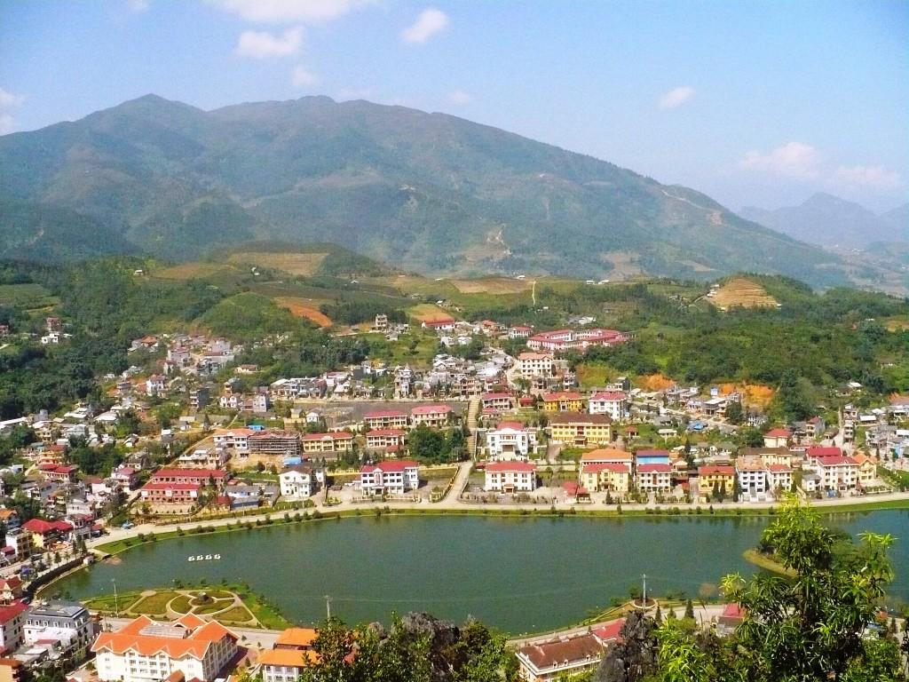 Khu vực trung tâm hành chính thị trấn Sapa, Lào Cai