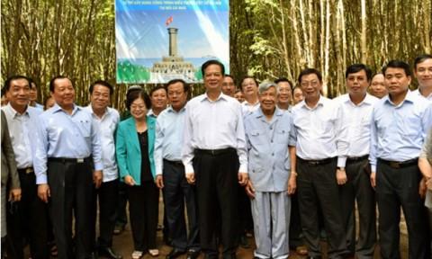 Khởi công xây dựng biểu tượng Cột cờ Hà Nội tại mũi Cà Mau