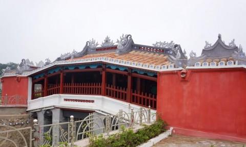 Kiến trúc Chùa Cầu Hội An được tái hiện tại Thanh Hoá