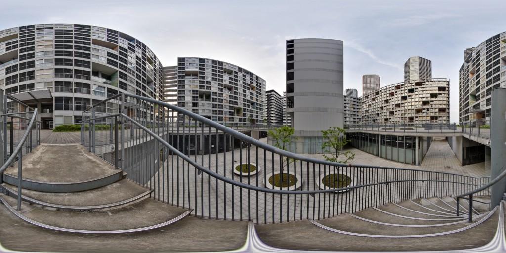 Dự án Shinonome Canal  Court, TP Tokyo (Nhật Bản) hình mẫu tiêu biểu cho tái thiết tập trung và đồng bộ nhà ở chung cư cũ