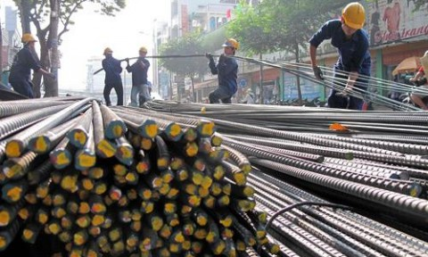 """Thép Trung Quốc """"chiếm"""" 61% lượng sắt thép nhập vào Việt Nam"""
