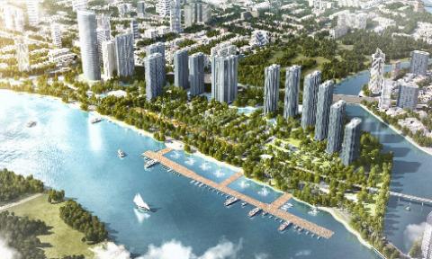 5 điểm 'vàng' hút nhà đầu tư ở Vinhomes Golden River