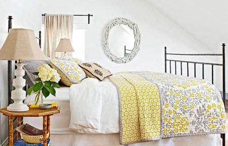 Những cách phối màu tuyệt đẹp cho phòng ngủ