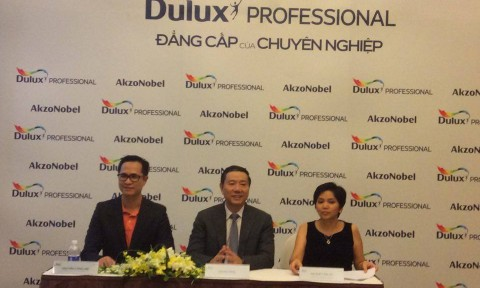 Ra mắt bộ sản phẩm sơn Dulux Professional