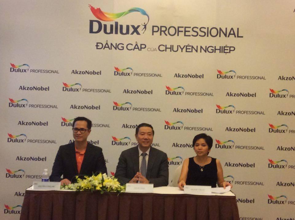 Buổi ra mắt sản phẩm sơn Dulux Professional
