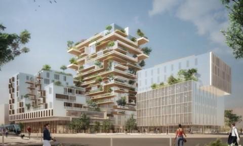 Dự án xây dựng tòa nhà văn phòng bằng gỗ tại Bordeaux