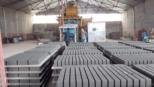 Vật liệu xây không nung dần được thay thế các vật liệu xây nung trong các hoạt động xây dựng hiện nay.