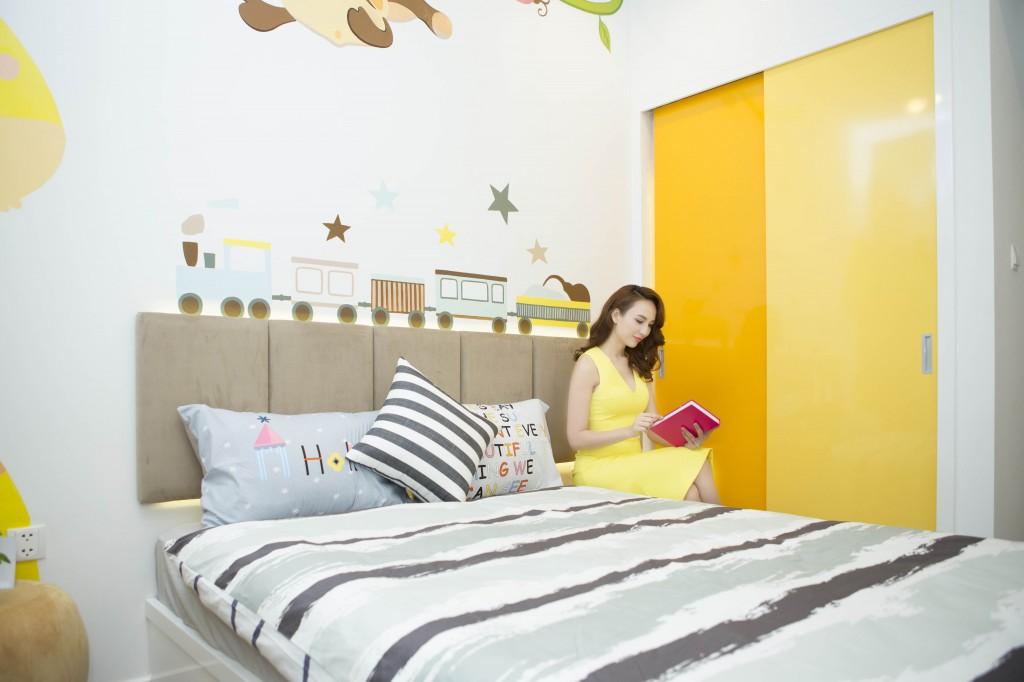 Ngọc Diễm chọn căn 2 phòng ngủ để đầu tư cho thuê lại