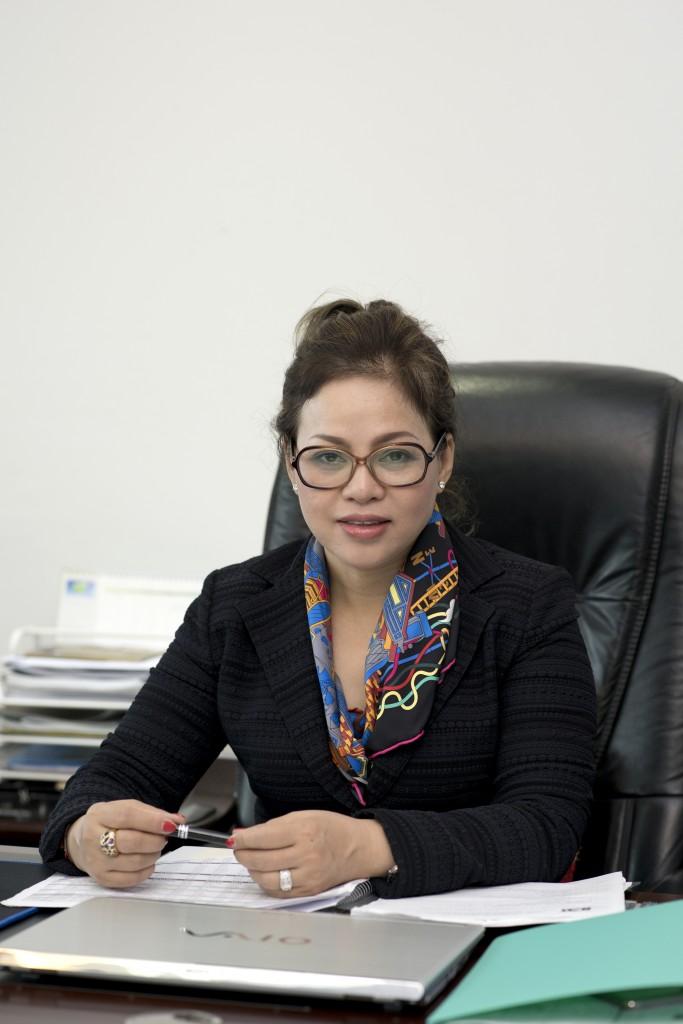 Bà Nguyễn Thị Dung – Chủ tịch hội đồng quản trị của công ty Euroha