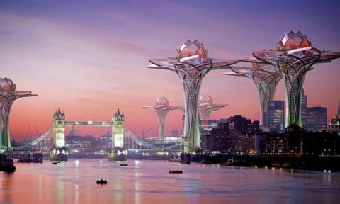 10 siêu dự án kiến trúc táo bạo của con người trong tương lai