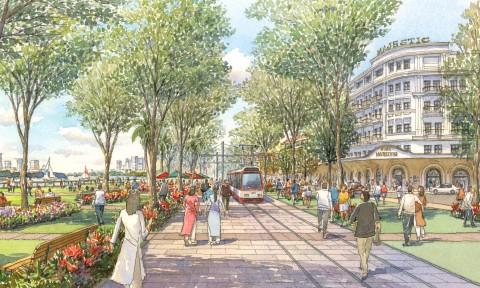 Tầm nhìn thiết kế đô thị và thể chế hóa quy hoạch khu trung tâm hiện hữu mở rộng TP HCM