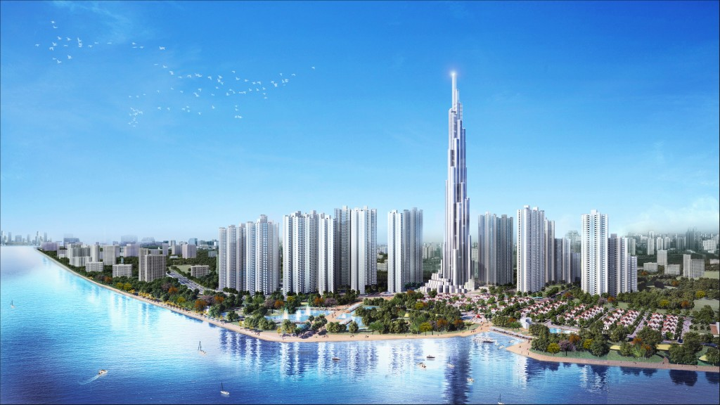 Dự án nhà cao tầng ven sông Vinhomes Tân cảng