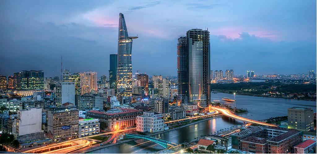 Khu trung tâm mở rộng bờ Đông sông Sài Gòn, Q4 TPHCM