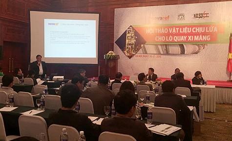 Hiệp hội Xi măng tổ chức Hội thảo Vật liệu chịu lửa cho lò quay xi măng