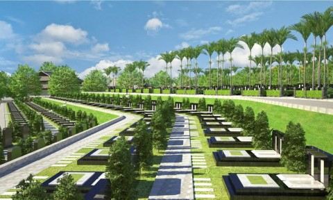 Công trình nghĩa trang: Cần đồng bộ hệ thống xử lý chất thải