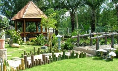 Bố trí sân vườn mang an lành cho gia chủ