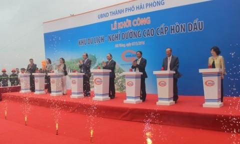Him Lam khởi công dự án du lịch, nghỉ dưỡng 5.000 tỷ đồng tại đảo Hòn Dấu