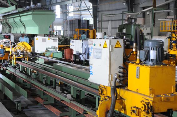 Dây chuyền công nghệ sản xuất nhôm định hình
