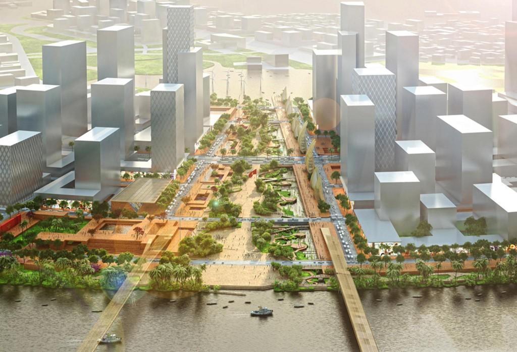 Phương án thiết kế quy hoạch quảng trường Thủ Thiêm
