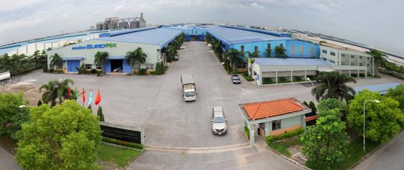 Không gian Nhà xưởng Nhôm EuroHa