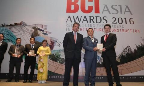 SonKimLand đoạt giải Top 10 chủ đầu tư bất động sản hàng đầu Việt Nam