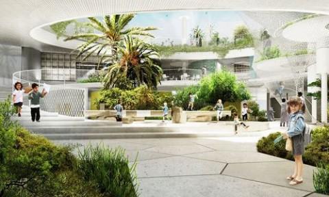 CEBRA Đan Mạch công bố thiết kế trường học bền vững
