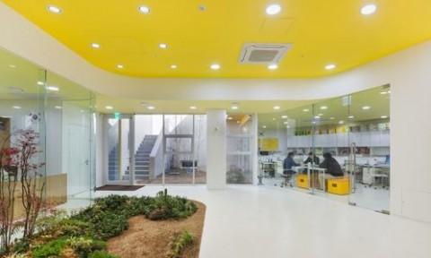 Thiết kế trường mẫu giáo hoàn hảo tại Seoul