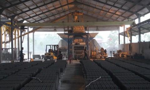 Sản xuất và tiêu thụ gạch không nung ở Thanh Hóa: Khởi sắc