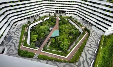 Khu dân cư với thiết kế thụ động tại Singapore