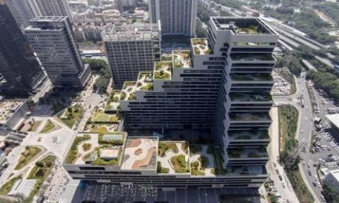 Thiết kế bậc thang độc đáo cho tòa nhà văn phòng tại Thâm Quyến