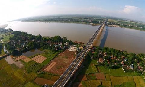 Hà Nội sẽ có 18 công trình đường bộ vượt sông Hồng