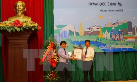 Huế – thành phố xanh quốc gia của Việt Nam trong năm 2016